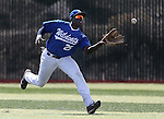 Western Nevada Wildcat's Donald Glover Jr. makes a catch in the outfield during a college baseball game against Colorado Northwestern in Carson City, Nev., on Sunday, March 10, 2013. WNC swept the weekend series 4-0. .Photo by Cathleen Allison/Nevada Photo Source