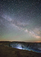 Night Photography at Palouse Falls in Washington