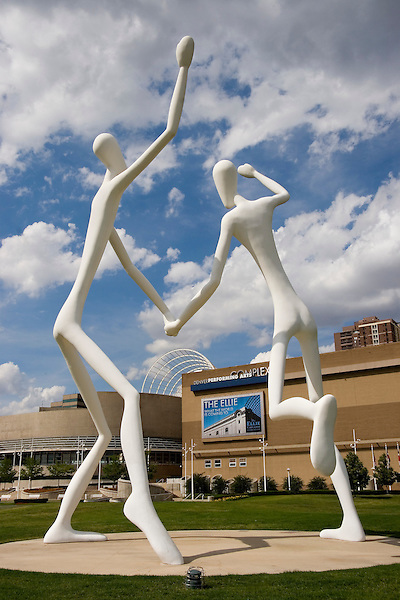 Dancers in downtown Denver, Colorado, USA John offers private photo tours of Denver, Boulder and Rocky Mountain National Park. .  John offers private photo tours in Denver, Boulder and throughout Colorado. Year-round.