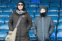 Fleetwood Town FC fans seen during the Sky Bet League 1 match between Southend United and Fleetwood Town at Roots Hall, Southend, England on 13 January 2018. Photo by Carlton Myrie.