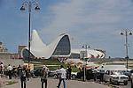 Heydar Aliyev Cultural Center Designed by Zaha Hadid Catches Fire (AZE)