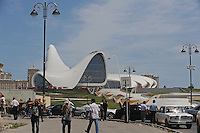 Heydar Aliyev Cultural Center Designed by Zaha Hadid Catches Fire (AZE)