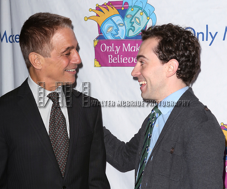 Tony Danza and Rob McClure attends the 14th Annual 'Only Make Believe' Gala at the Bernard B. Jacobs Theatre on November 4, 2013  in New York City.