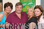 Psychic readings: At the Kay McDonnells Natural Health Centre, Listowel on Friday morning was Denis McKenzie, world renowned psychic and medium, who was giving psychic readings all week. Pictured with Denis are Kay McDonnell, Judith Valentine, (his assistant) and Fiona Costello of the health centre..