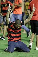 Recife,PE,20.11.2019 - SPORT - PONTE PRETA - Partida entre Sport e Ponte Preta válida pela 37° rodada do Campeonato Brasileiro da série B, nesta quarta-feira(20) na Ilha do Retiro, Recife (PE).(Rafael Vieira/Código19).
