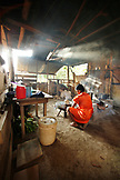 BELIZE, Punta Gorda, Toledo District, Selestina Cho makes tortillas in the kitchen at her home in the Maya village of San Jose