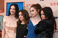 "NEW YORK - MARCH 4: (L-R) Mikey Madison, Olivia Edward, Hannah Alligood and Pamela Adlon attend the season 4 premiere of FX's ""Better Things"" at the Whitby Hotel on March 4, 2020 in New York City. (Photo by Anthony Behar/FX Networks/PictureGroup)"