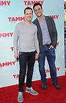 Jason Landau and Cheyenne Jackson<br />  at The Warner Bros. Pictures' L.A. Premiere of Tammy held at The TCL Chinese Theatre in Hollywood, California on June 30,2014                                                                               © 2014 Hollywood Press Agency