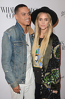 BEVERLY HILLS, CA - OCTOBER 13: Evan Ross and Ashlee Simpson at the What Goes Around Comes Around Beverly Hills Opening on October 13, 2016 in Beverly Hills, California. Credit: David Edwards/MediaPunch