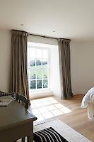 All the bedroom are light and simply furnished with views over the estuary