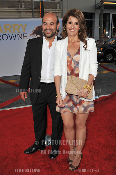 "Nia Vardalos & husband Ian Gomez at the world premiere of her new movie ""Larry Crowne"" at Grauman's Chinese Theatre, Hollywood..June 27, 2011  Los Angeles, CA.Picture: Paul Smith / Featureflash"