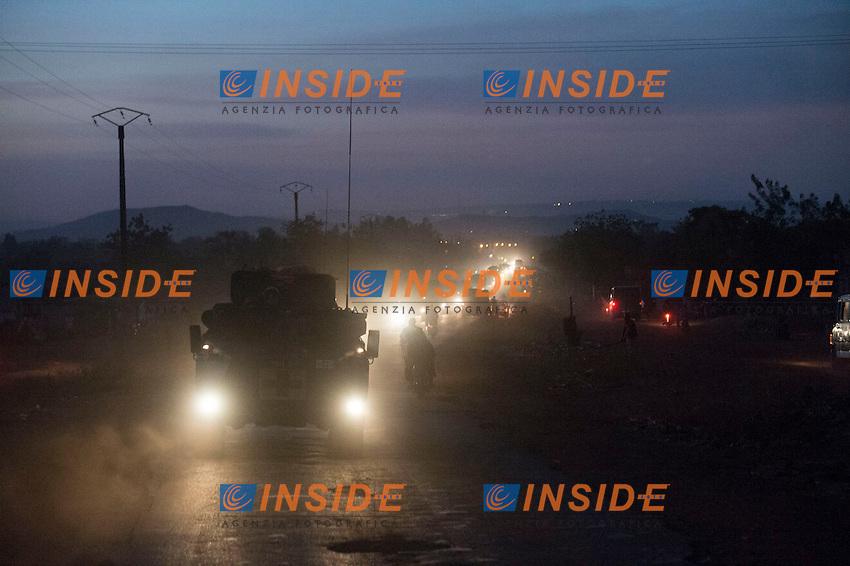 Dispiegamento di truppe francesi.Mali 17/1/2013 .Foto A.Roiné © ecpad/EMA / Panoramic / Insidefoto .ITALY ONLY .Operazione SERVAL. Intervento Francia in MALI