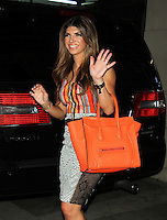 NEW YORK, NY-July 06: Teresa Giudice at  HuffPost Live  to talk about the new season of the  Real  Housewives of New Jersey in New York. NY July 06, 2016. Credit:RW/MediaPunch