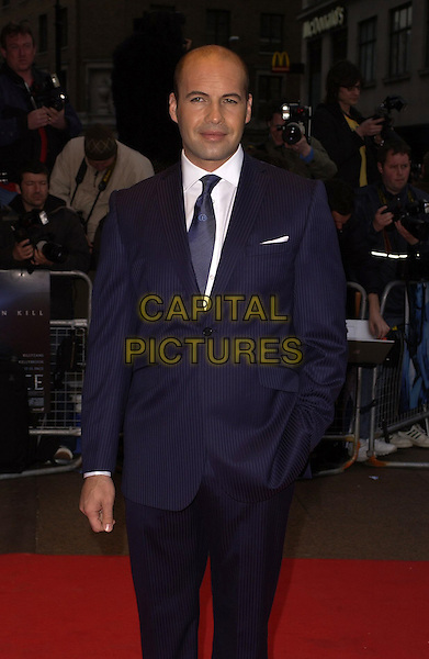 "BILLY ZANE .World Premiere of ""Three"" at the Odeon West End, Leicester Square, London, UK..May 2nd, 2006.Ref: CAN.half length blue pinstripe suit jacket.www.capitalpictures.com.sales@capitalpictures.com.©Capital Pictures"