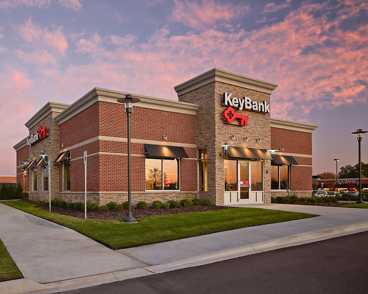 Key Bank Orchard Lake Rd Branch | Architects: Key bank