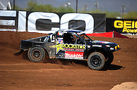 Apr 15, 2011; Surprise, AZ USA; LOORRS driver Todd Leduc (4) during round 3 and 4 at Speedworld Off Road Park. Mandatory Credit: Mark J. Rebilas-.