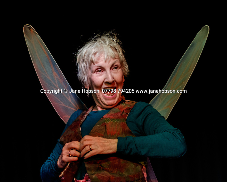 """London, UK. 05.04.2017. Thunder's Mouth Theatre presents """"Yes! Because"""", starring Flloyd Kennedy, at Bread and Roses Theatre, London. Photograph © Jane Hobson."""