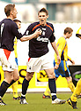 02/04/2005         Copyright Pic : James Stewart.File Name : jspa12_falkirk_v_st_johnstone.DAYRLL DUFFY CELEBRATES AFTER SCORING FOR FALKIRK.....Payments to :.James Stewart Photo Agency 19 Carronlea Drive, Falkirk. FK2 8DN      Vat Reg No. 607 6932 25.Office     : +44 (0)1324 570906     .Mobile   : +44 (0)7721 416997.Fax         : +44 (0)1324 570906.E-mail  :  jim@jspa.co.uk.If you require further information then contact Jim Stewart on any of the numbers above.........A
