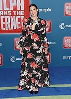 05 November 2018 - Hollywood, California - Mandy Moore . Disney's &quot;Ralph Breaks the Internet&quot; Los Angeles Premiere held at El Capitan Theater. <br /> CAP/ADM/BT<br /> &copy;BT/ADM/Capital Pictures