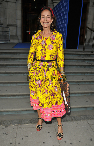 Andrea Dellal at the Frida Kahlo: Making Her Self Up exhibition VIP private view, Victoria and Albert Museum, Cromwell Road, London, England, UK, on Wednesday 13 June 2018.<br /> CAP/CAN<br /> &copy;CAN/Capital Pictures