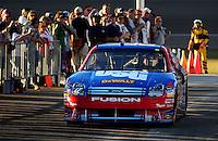 Feb 29, 2008; Las Vegas, NV, USA; NASCAR Sprint Cup Series driver Matt Kenseth during qualifying for the UAW Dodge 400 at Las Vegas Motor Speedway. Mandatory Credit: Mark J. Rebilas-