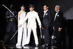 Nanao,  Byung-hun Lee, Jon M. Chu and Jo Shishido, May 27, 2013 : South Korean Actor Byung-Hun Lee, director Jon M. Chu, Shishido Joe attend G.I.Joe: Retaliation Japan premiere on 27 May 2013 Tokyo Japan. (Photo by Mooto Naka/AFLO)