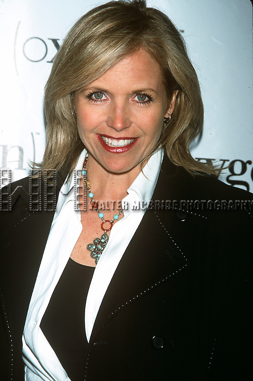 Katie Couric pictured at the Oxygen 2nd anniversary party at Exit in New York City on April 4, 2002.