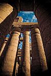 Great Hypostyle Hall at Karnak Temple, Egypt circa 1200 BC