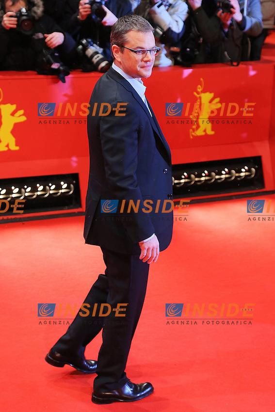 Matt Damon. Berlin 08/02/2013. 63th Berlinale 'Promise Land' photocall. foto Mark Cape/Insidefoto
