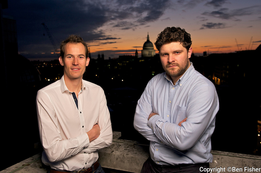 Alex Scott-Whitby & Rory Pennant-Rea of Studio AR in central London