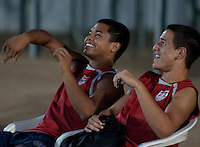 Bryan Duran and Luis Gil. U.S. Under-17 Men Training  Kano, Nigeria