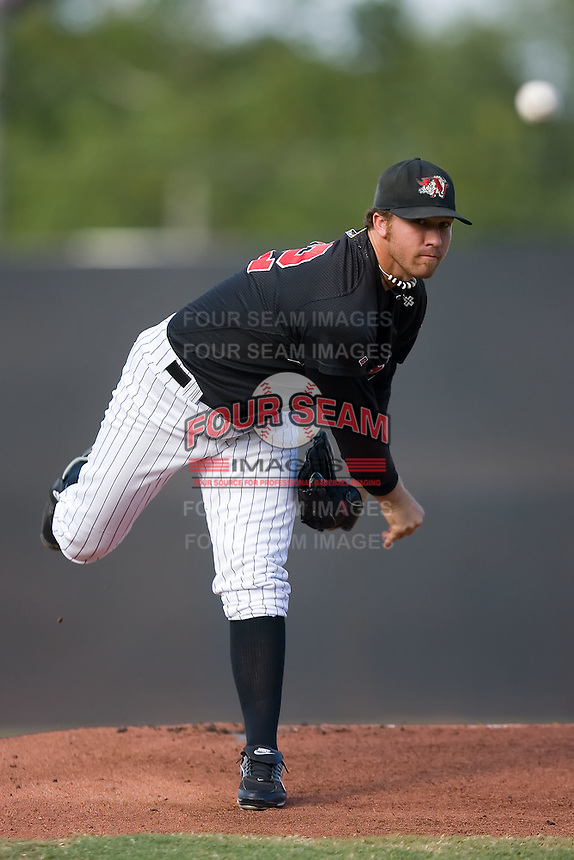Michael Dubee (32) of the Winston-Salem Warthogs in action at Ernie Shore Field in Winston-Salem, NC, Saturday August 9, 2008. (Photo by Brian Westerholt / Four Seam Images)