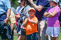 Young fans wait for the next tee time on the 10th tee during round 1 of  the Volunteers of America Texas Shootout Presented by JTBC, at the Las Colinas Country Club in Irving, Texas, USA. 4/27/2017.<br /> Picture: Golffile | Ken Murray<br /> <br /> <br /> All photo usage must carry mandatory copyright credit (&copy; Golffile | Ken Murray)