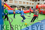 Teens enjoying the fun and games at the KDYS Youth day in the INEC on Sunday