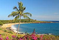 Hulapoe Beach. The Four Seasons at Manele Bay on Lanai, Hawaii.