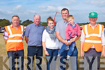 Liam Fleming the land owner where the South Kerry Ploughing Championships in Fossa on Sunday with friends l-r: Brendan, Donie, Orla, Eoin and Sean O'Sullivan, Liam Fleming