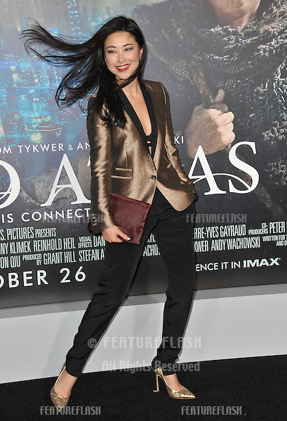 "Zhu Zhu at the Los Angeles premiere of her new movie ""Cloud Atlas"" at Grauman's Chinese Theatre, Hollywood..October 24, 2012  Los Angeles, CA.Picture: Paul Smith / Featureflash"
