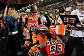 18th March 2018, Losail International Circuit, Lusail, Qatar; Qatar Motorcycle Grand Prix, Sunday race day; Marc Marquez (Repsol Honda) on the grid