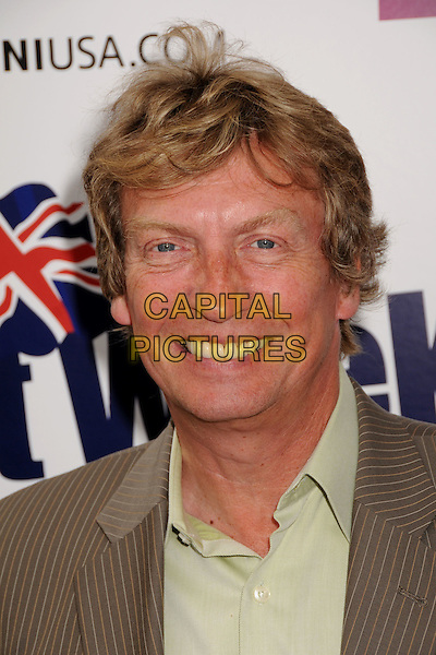 NIGEL LYTHGOE.BritWeek 2009 Champagne VIP Reception at a Private Residence, Los Angeles, CA, USA..April 23rd, 2009.headshot portrait .CAP/ADM/BP.©Byron Purvis/AdMedia/Capital Pictures.