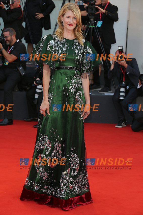 VENICE, ITALY - AUGUST 29:  Laura Dern walks on Marriage Story red carpet during the 76th Venice Film Festival at Sala Grande on August 29, 2019 in Venice, Italy. Photo Mark Cape/Insidefoto)<br /> Venezia 29/08/2019
