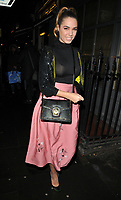 Amber Le Bon at the Gigi Hadid x Maybelline Jetsettter Cosmetics Kit VIP launch party, Hotel Gigi, 93 Mortimer Street, London, England, UK, on Tuesday 07 November 2017.<br /> CAP/CAN<br /> &copy;CAN/Capital Pictures
