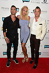 MIAMI BEACH, FL - JUNE 18:Johnathan Myers, Lauren Foster and Christopher Leavitt attends Million Dollar Listing Miami Season One VIP Premiere Party at Nikki Beach on June 18, 2014 in Miami Beach, Florida. (Photo by Johnny Louis/jlnphotography.com)