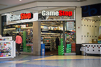 A GameStop in a mall in Valley Stream on Long Island on Saturday, July 9, 2016.  (© Richard B. Levine)