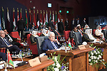 Palestinian President Mahmoud Abbas (2nd L) attends the opening of the first LAS-EU Summit in Sharm el-Sheikh, Egypt, 24 February 2019. The European Union (EU) and League of Arab States (LAS) summit is held at the International Congress Centre in Sharm El-Sheikh between 24 and 25 February. The summit will for the first time bring together the heads of state or government from both organizations. Photo by Thaer Ganaim
