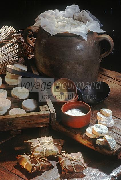 Europe/France/Midi-Pyrénées/46/Lot/Rocamadour: Fromages de Chèvre de  Rocamadour