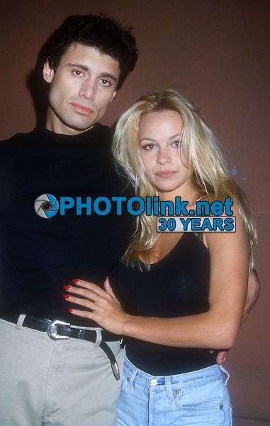 Steven Bauer, Pam Anderson, 1993, Photo By Michael Ferguson/PHOTOlink