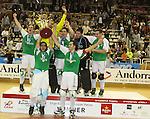 2011 Liga Europea Final 8 Cers. El Liceo es el nou campio d'Europa despres d'imposar-se 4-7 al Reus Deportiu i remontar un 3-0 inicial