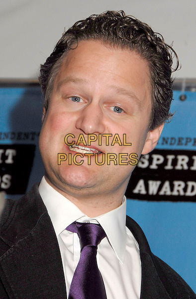 FLORIAN HENCKEL VON DONNERSMARCK.The 2007 Independent Spirit Awards held at the Santa Monica Pier, Santa Monica, California, USA, .24 February 2007..pressroom press room portrait headshot.CAP/ADM/GB.©Gary Boas/AdMedia/Capital Pictures.