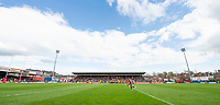 Picture by Allan McKenzie/SWpix.com - 22/04/2018 - Rugby League - Ladbrokes Challenge Cup - York City Knight v Catalans Dragons - Bootham Crescent, York, England - A general view of York playing Catalans.
