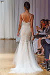Model walks runway in a Waverly gown from the Beloved Bridal collection at the Casablanca Bridal 20th anniversary celebration runway show, on October 8, 2017; during New York Bridal Fashion Week Spring 2018.